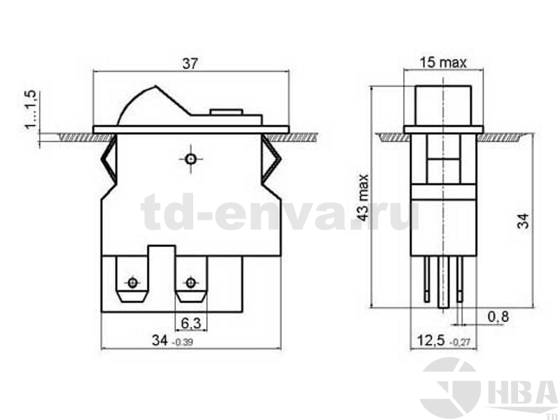 Выключатель ВК42 - ТД ЭНВА. Профессиональное электрооборудование и ... 2f27082b602